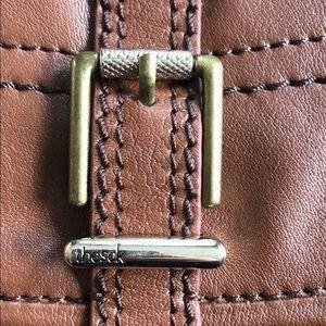 The Sak Bags - the Sak Silverlake cognac leather shoulder bag